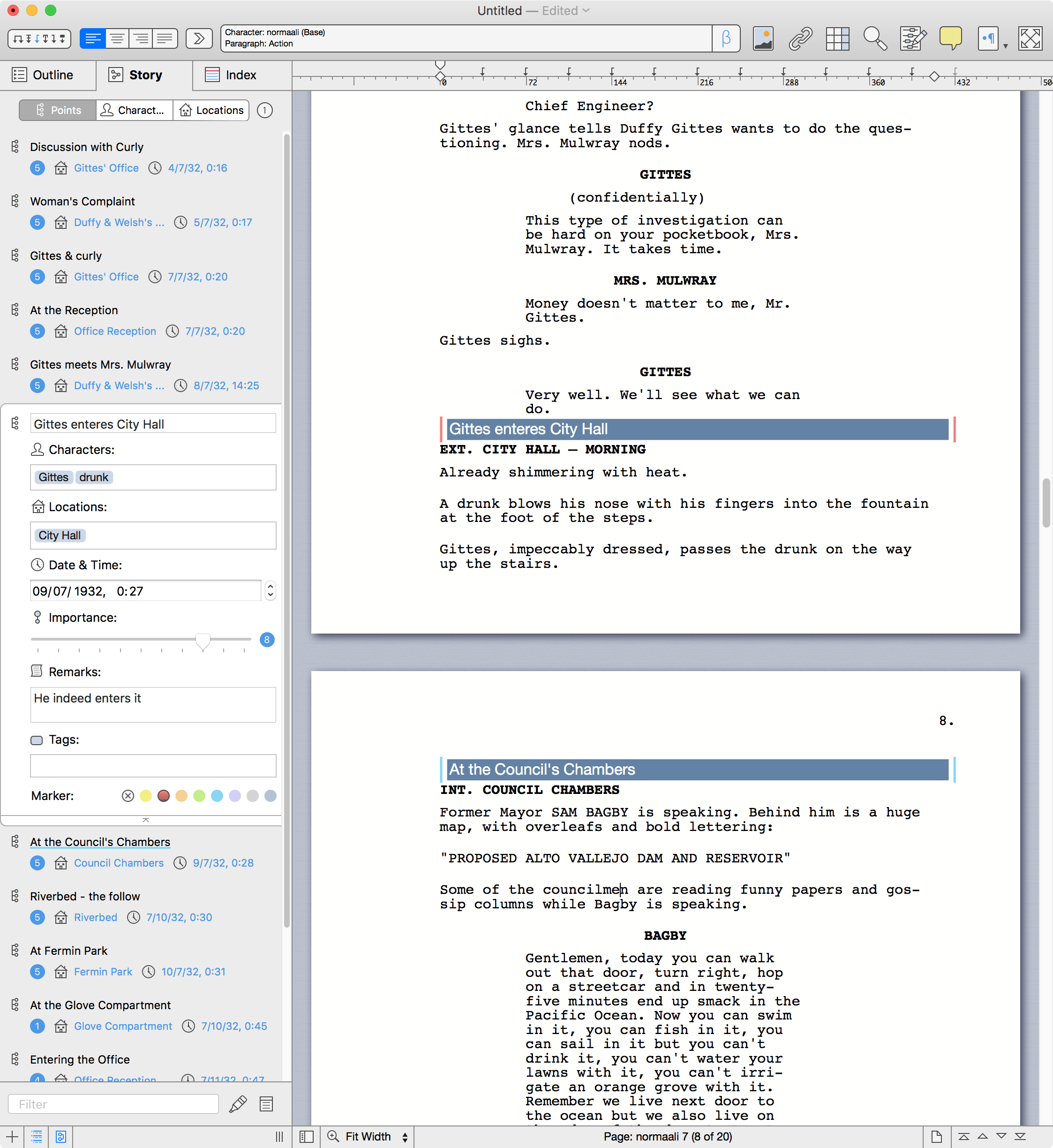 Mellel 4.1 introduces DOCX support, Tracking, Word Spacing, and more Image